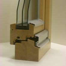 Holzfenster - Profil 104mm